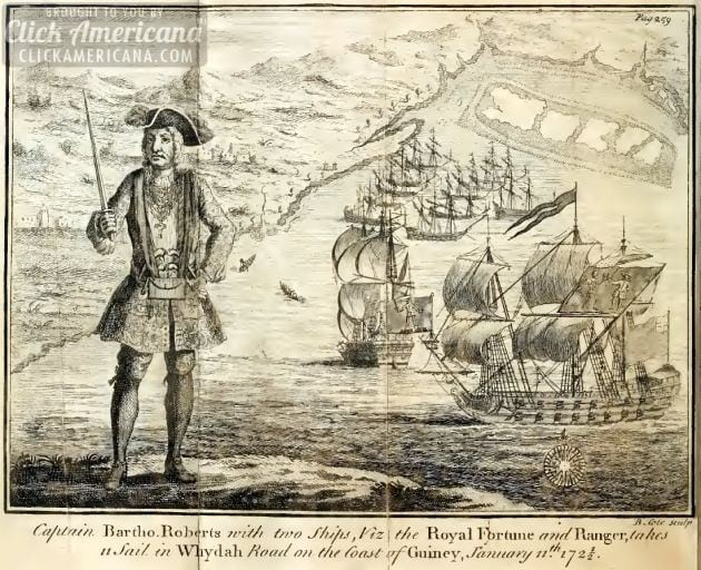 The pirate code: Rules for Black Bart's ship (1724)