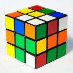 Basic Rubik's Cube puzzle toy