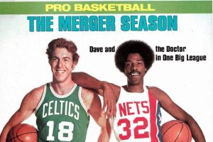 Basketball history When the ABA & NBA merged in 1976