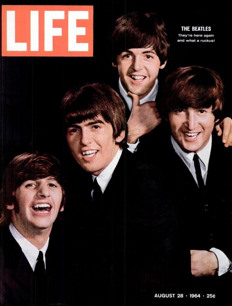 Beatles - LIFE Aug 28, 1964
