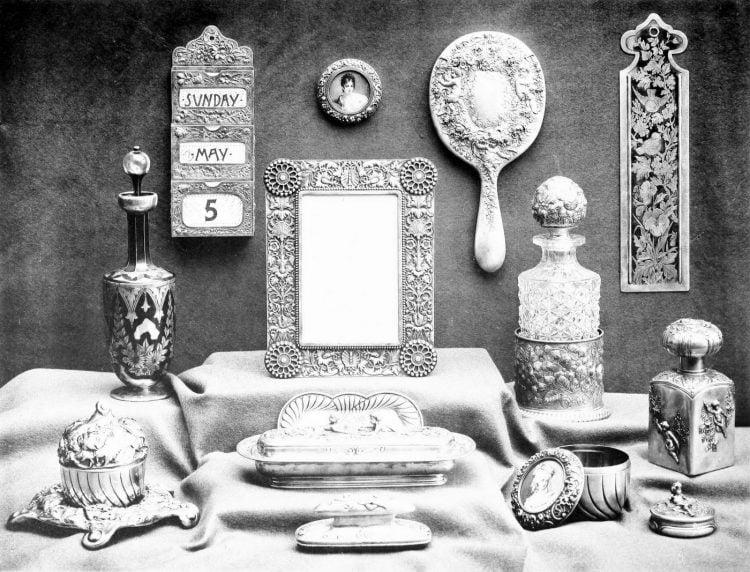 Beautiful antique Victorian Gorham silver accessories