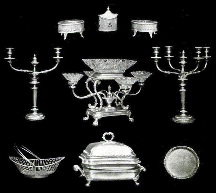 Beautiful antique silver pieces