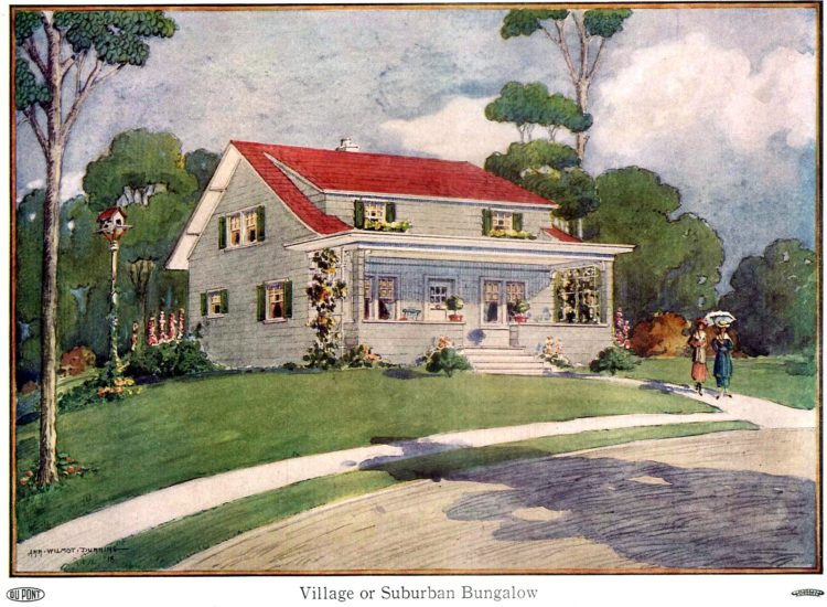 Beautiful homes from 1919 - Village or suburban bungalow
