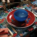 Beautiful party tablesettings 7 ways to present a holiday table with retro style (1974)