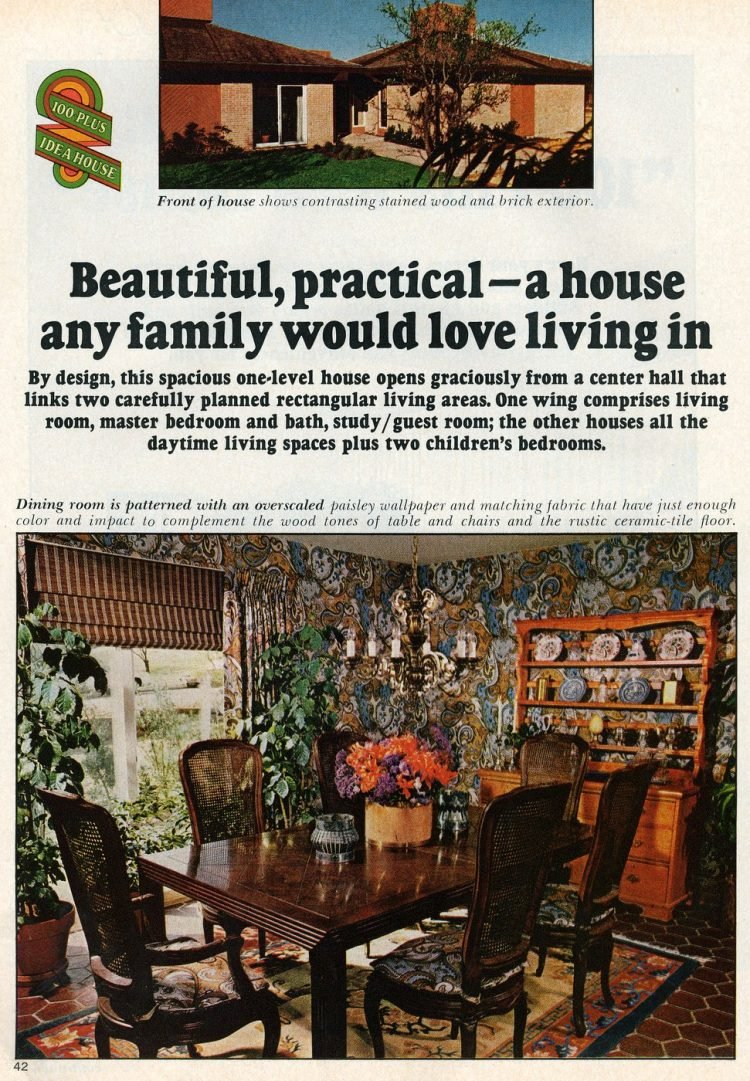Beautiful practical 1975 model home - A house any family would love living in