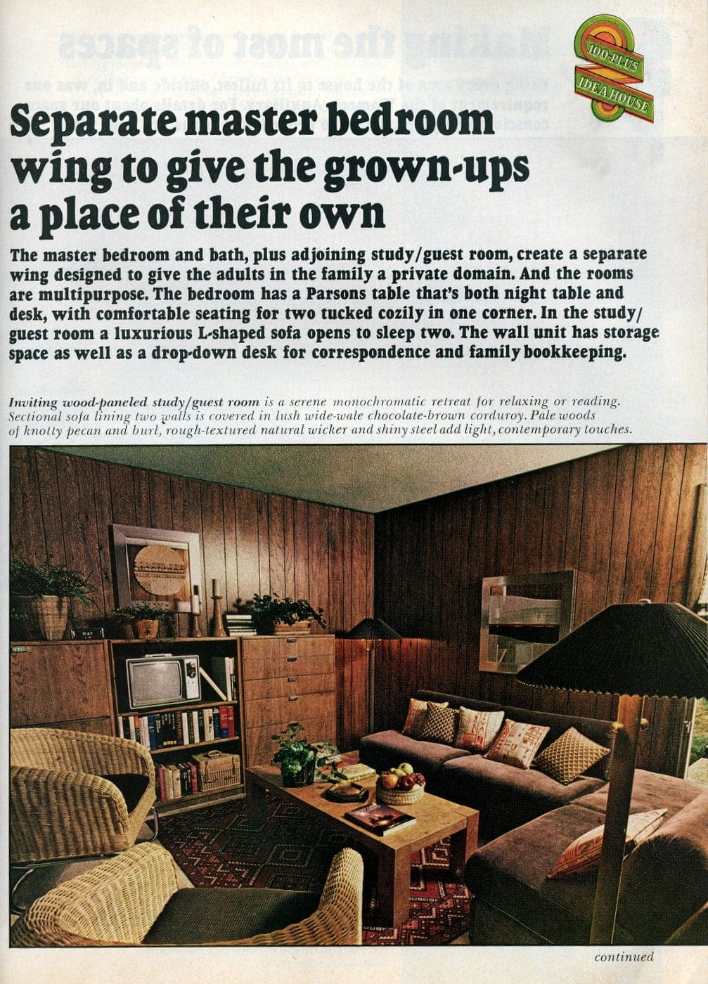 Beautiful practical 1975 model home - Separate master bedroom wing