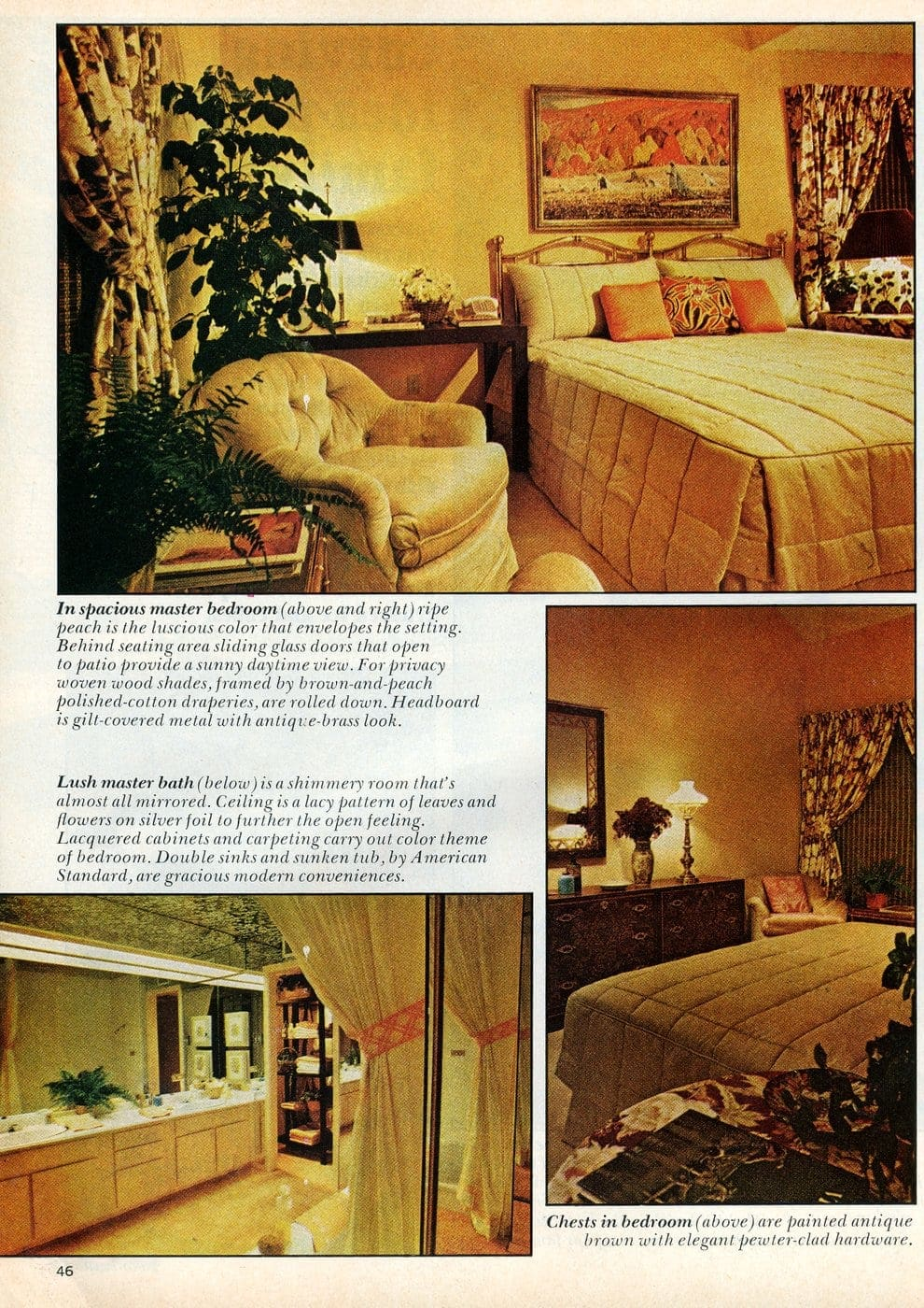 Beautiful practical 1975 model home - The master bedroom