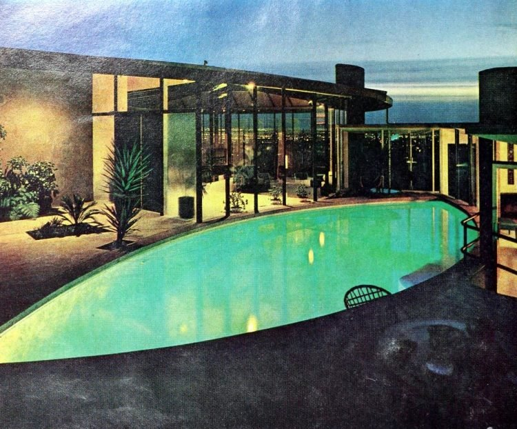 Beautiful private vintage-style swimming pool from 1966 (2)