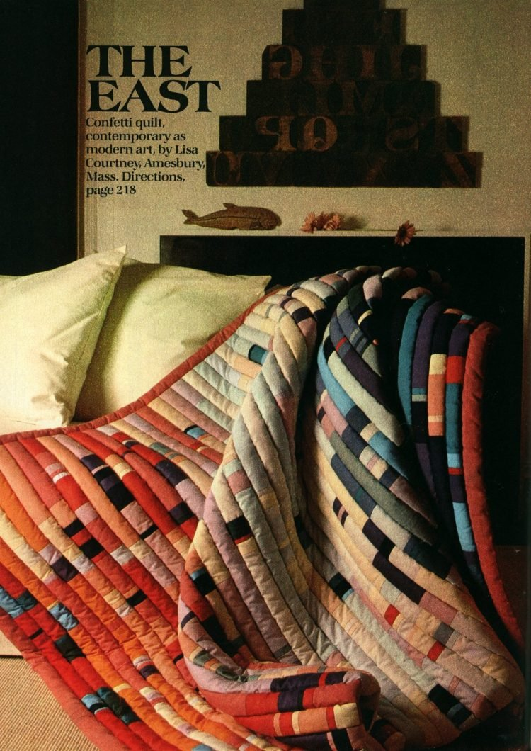 Beautiful prize-winning quilts from the 1970s (11)