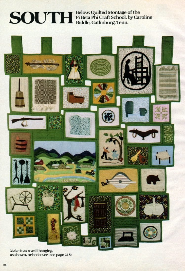 Beautiful prize-winning quilts from the 1970s (3)