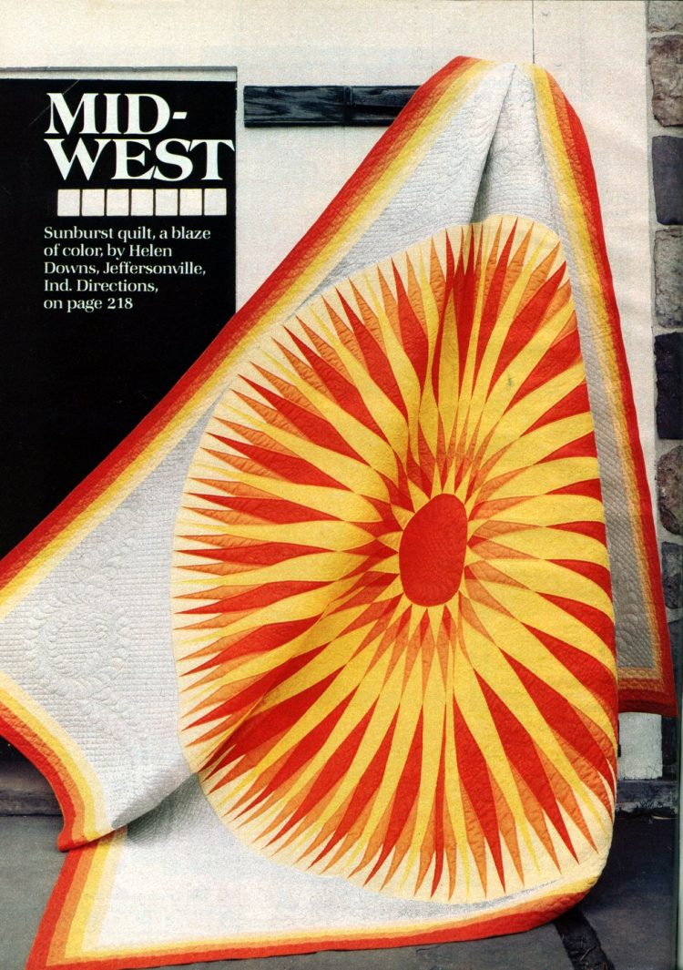 Beautiful prize-winning quilts from the 1970s (5)