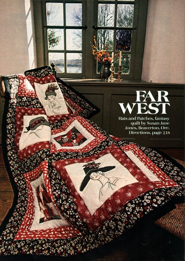 Beautiful prize-winning quilts from the 1970s (7)