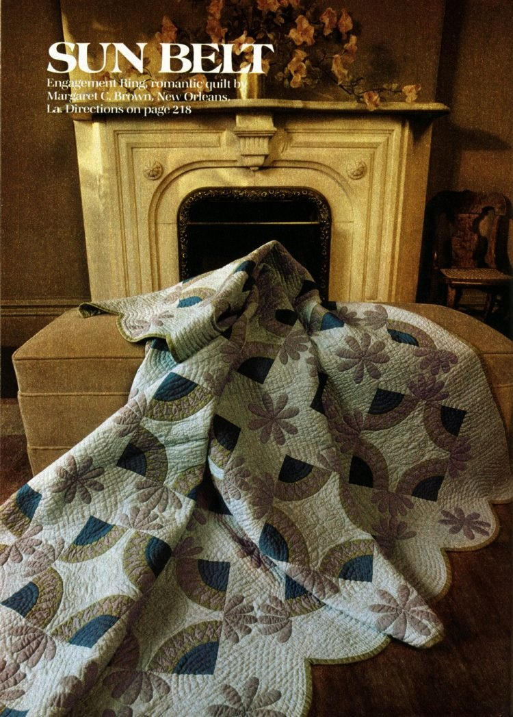 Beautiful prize-winning quilts from the 1970s (9)