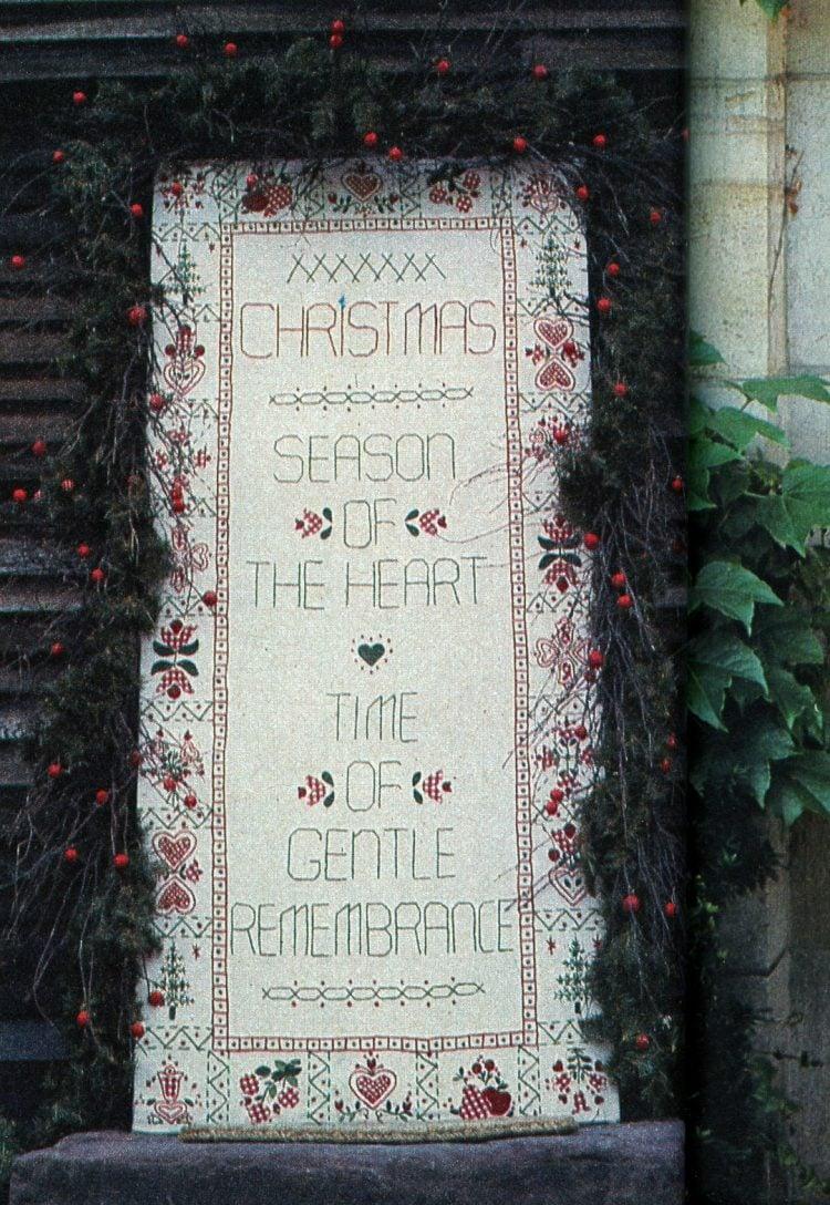 Beautiful retro Christmas door wreaths from the 70s (9)