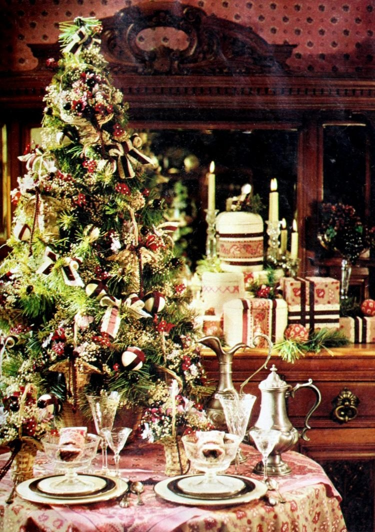 Beautiful tabletop Christmas trees from the 70s (4)