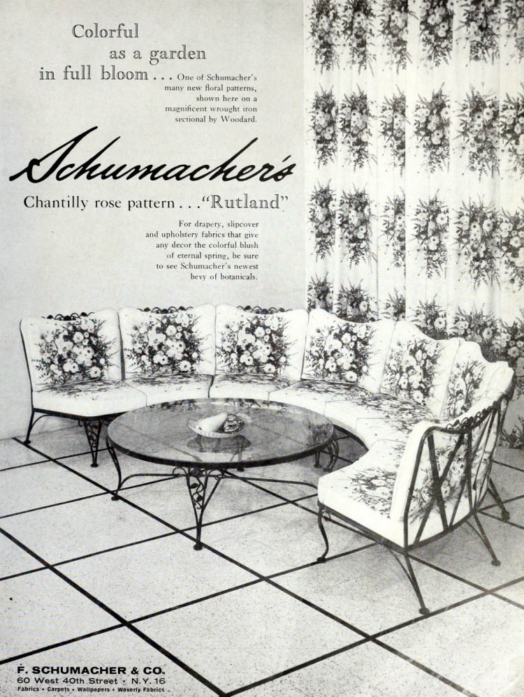 Beautiful vintage patio furniture from the 50s (1)