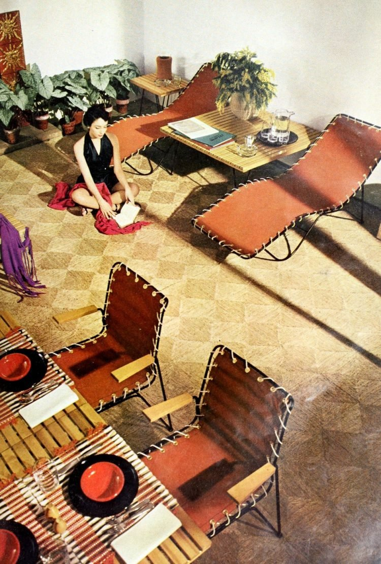 Beautiful vintage patio furniture from the 50s (2)