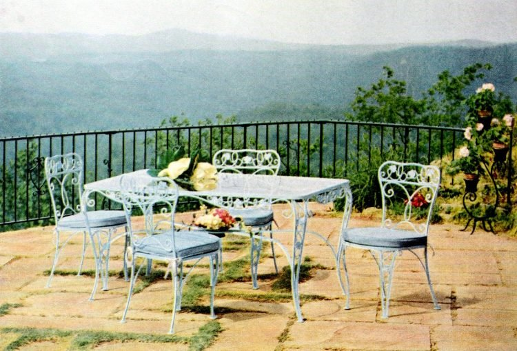 Beautiful vintage patio furniture from the 50s (4)