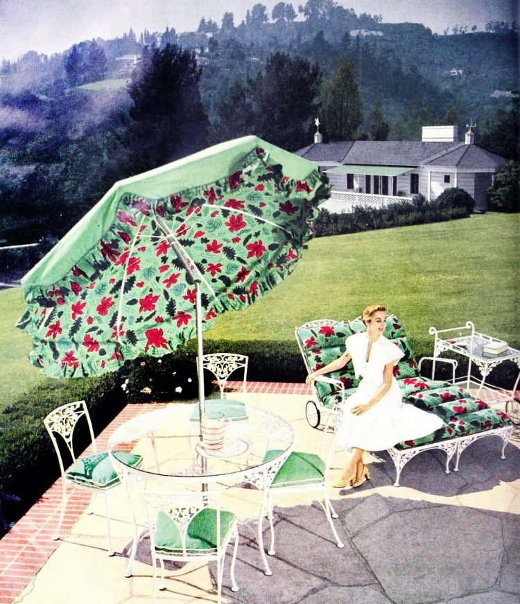 Beautiful vintage patio furniture from the 50s (5)