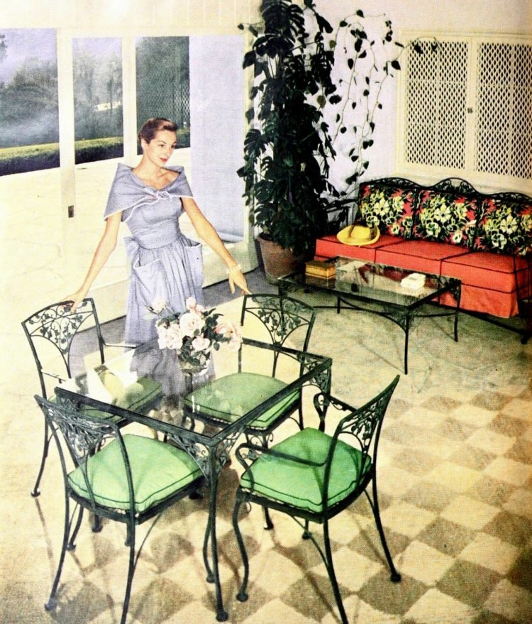 Beautiful vintage patio furniture from the 50s (6)
