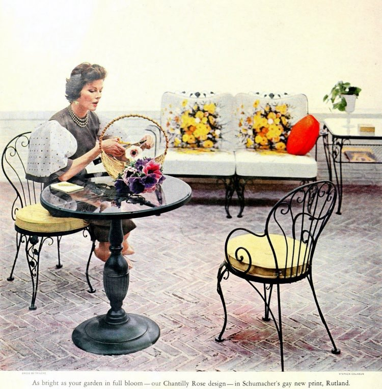 Beautiful vintage patio furniture from the 50s (7)
