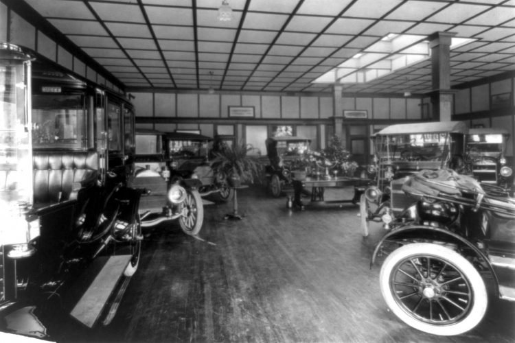 Beaver Co showroom - 1911