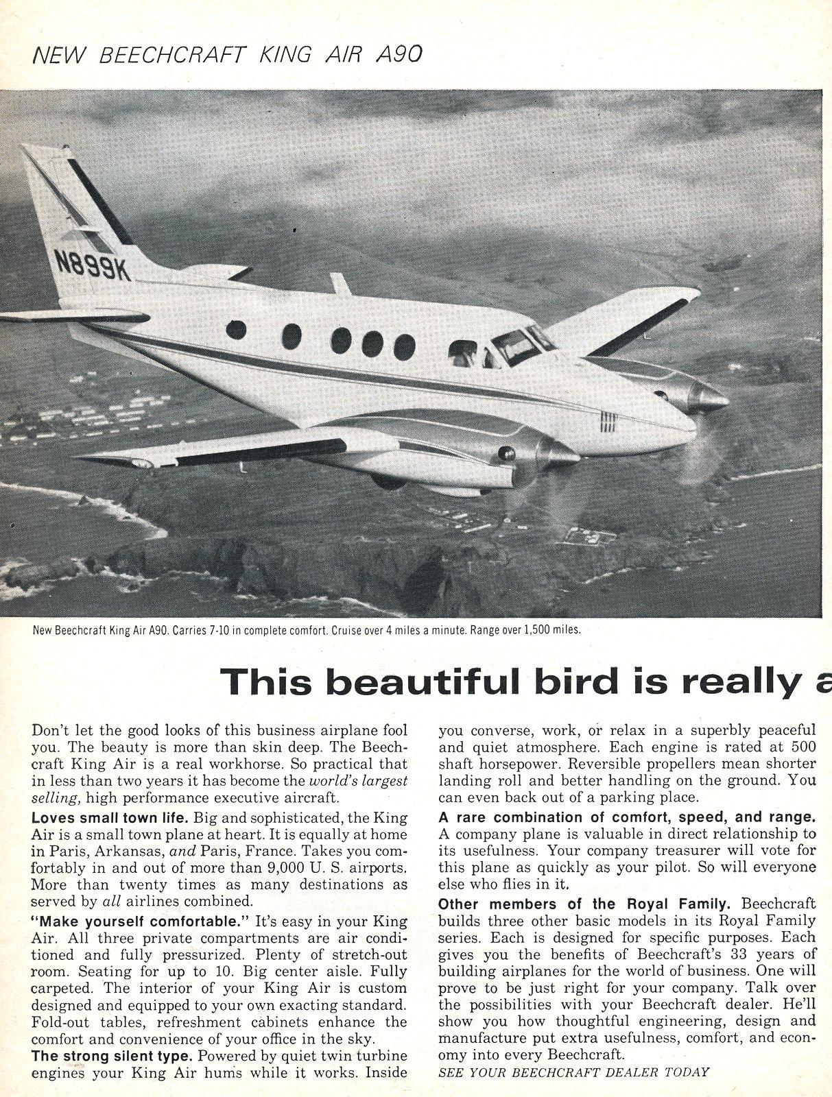 Beechcraft King Air A90 1967 (1)