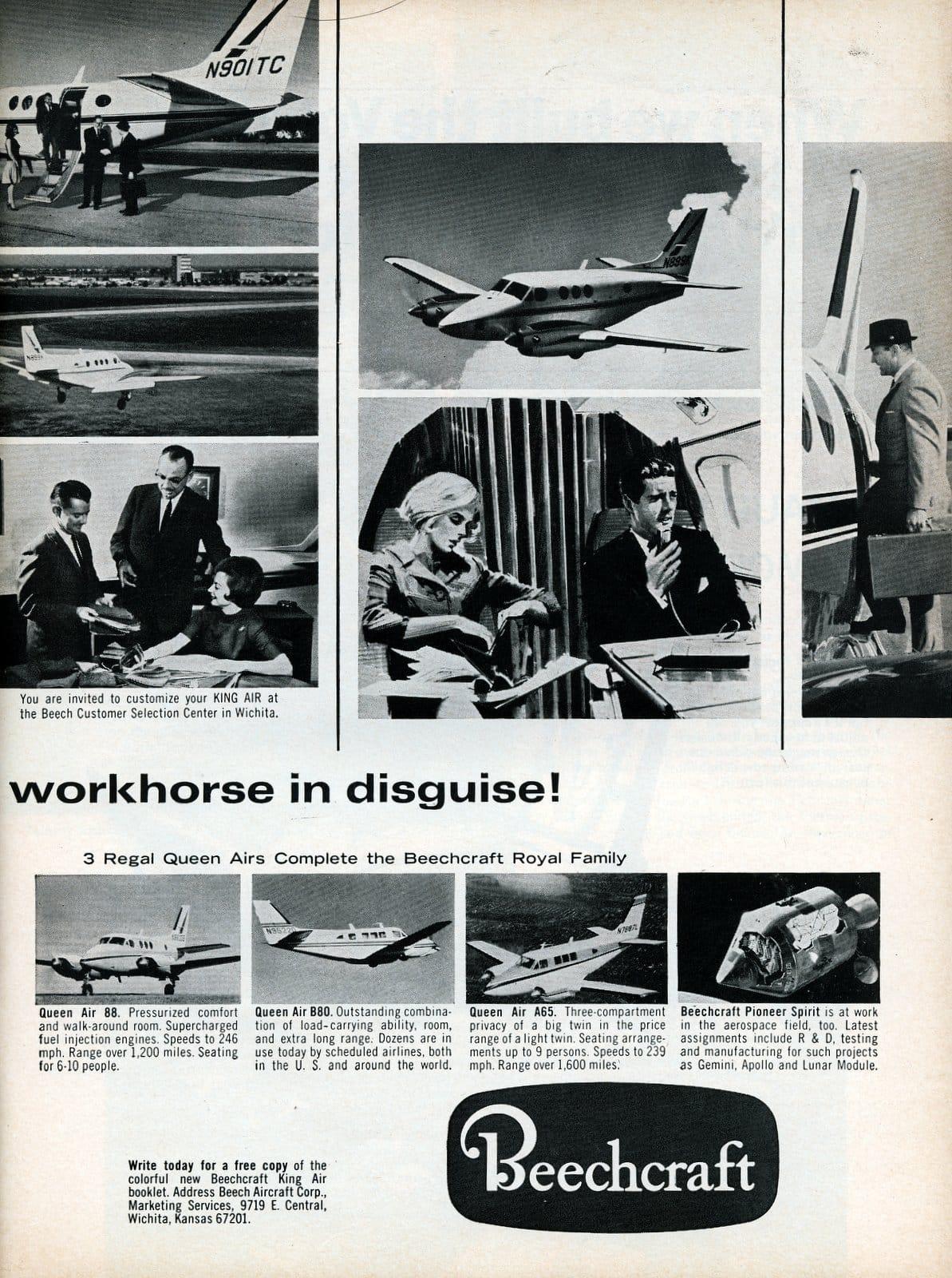 Beechcraft King Air A90 1967 (2)