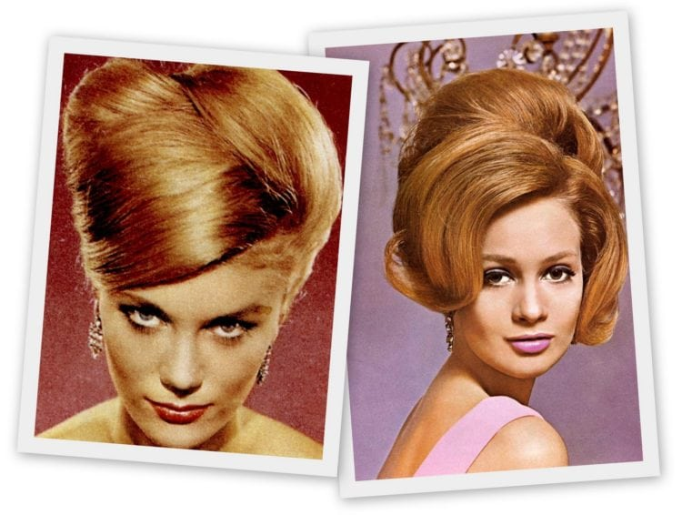 Goodbye, bouffant - Hello, beehive! The hot hairstyle of 1960