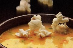 Beer-cheese soup