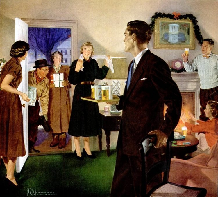 Beer for Christmas in 1950