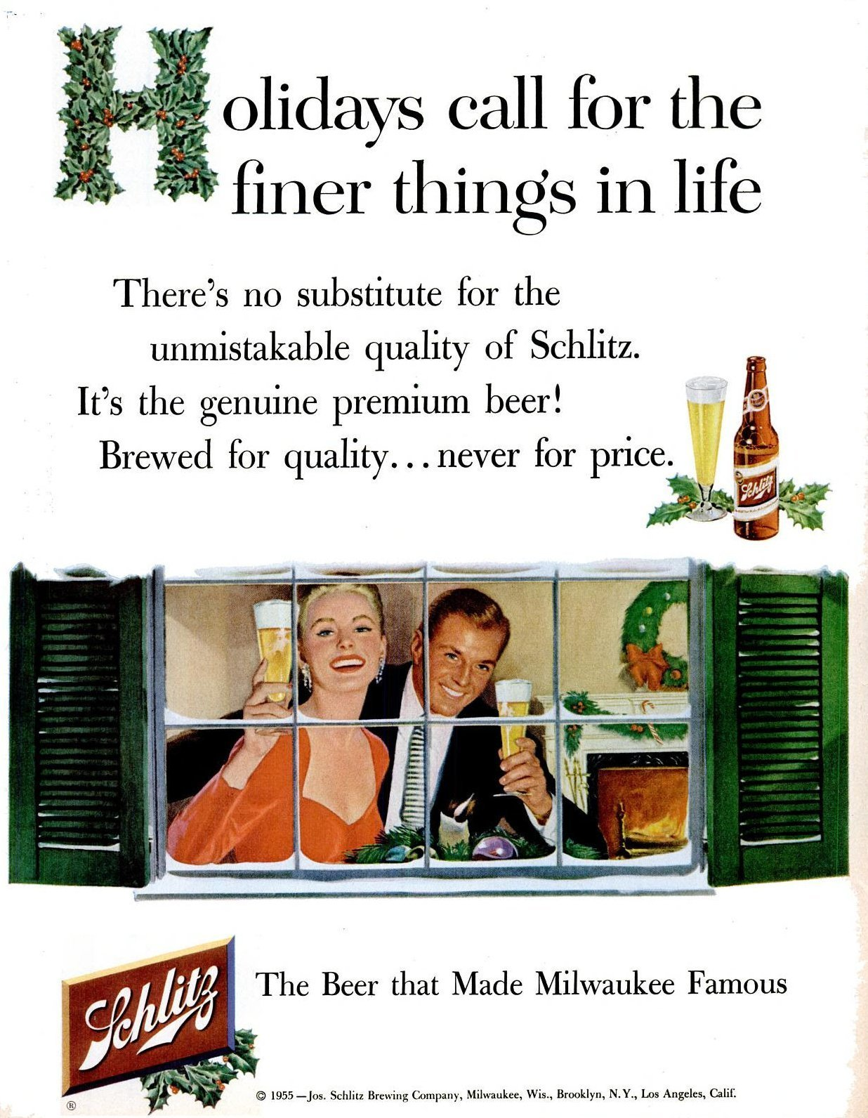 Beer for the holidays (1955)