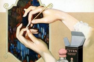 Before colored nail polish was in stores, here's what women 100 years ago did for a manicure