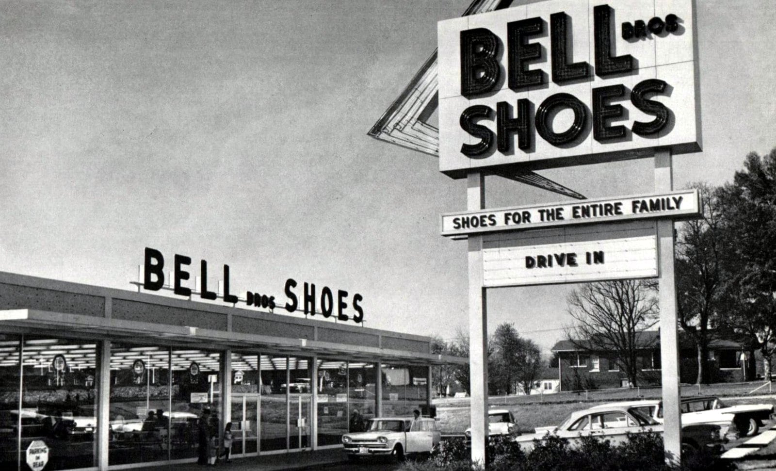 Bell Bros Shoe stores (1960)