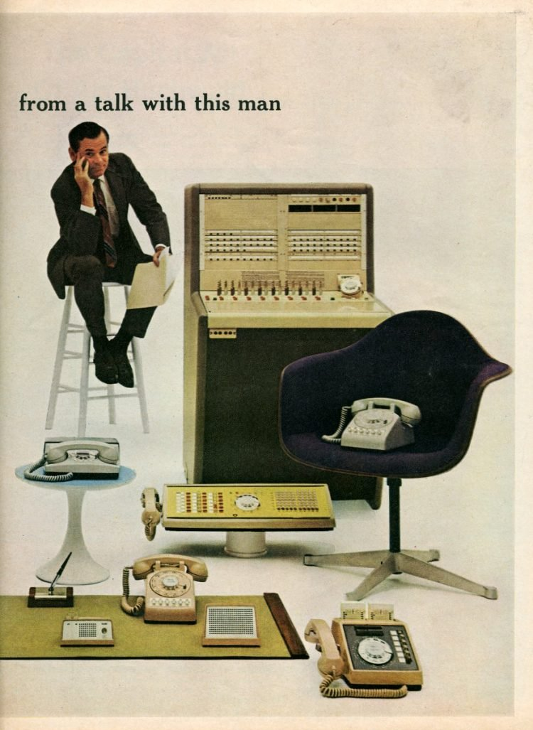 Bell Telephone Communications Consultant for business 1966 (1)