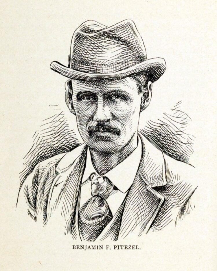 Benjamin F Pitezel - H H Holmes murder - book
