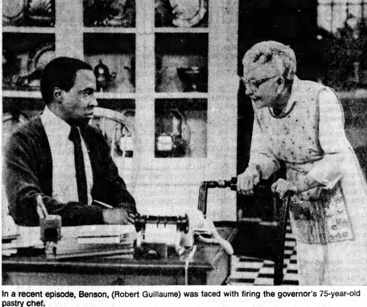 Benson TV show scene from 1979