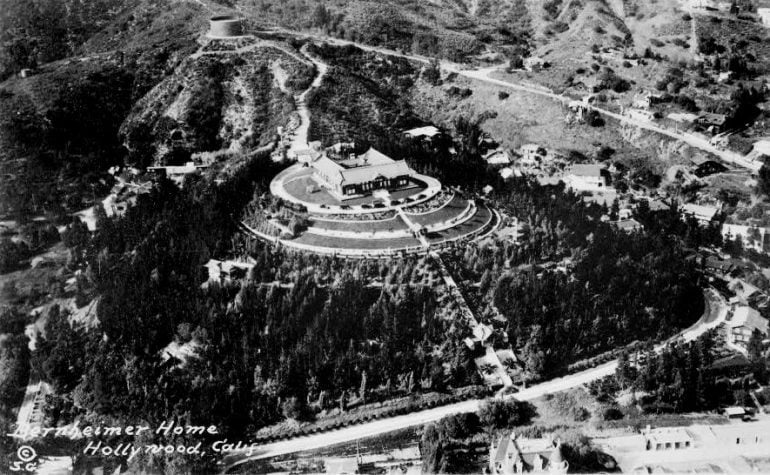 Bernheimer home, Hollywood, Calif. 1922