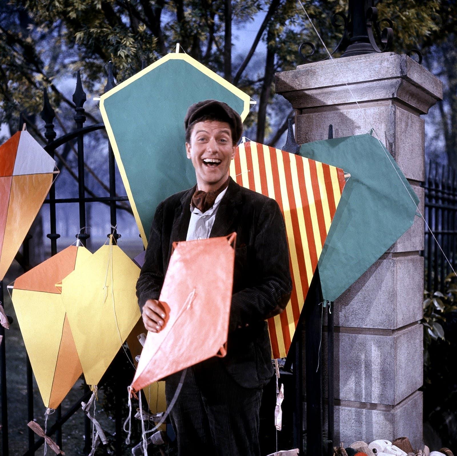 Bert in Disney's 1964 movie Mary Poppins
