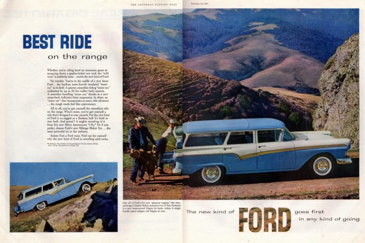 Best ride on the range: The glamour of the Ford station