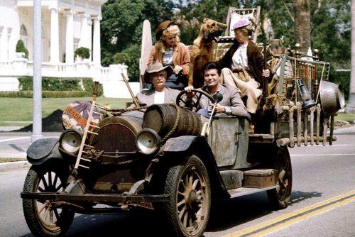 Beverly Hillbillies - Family in the car