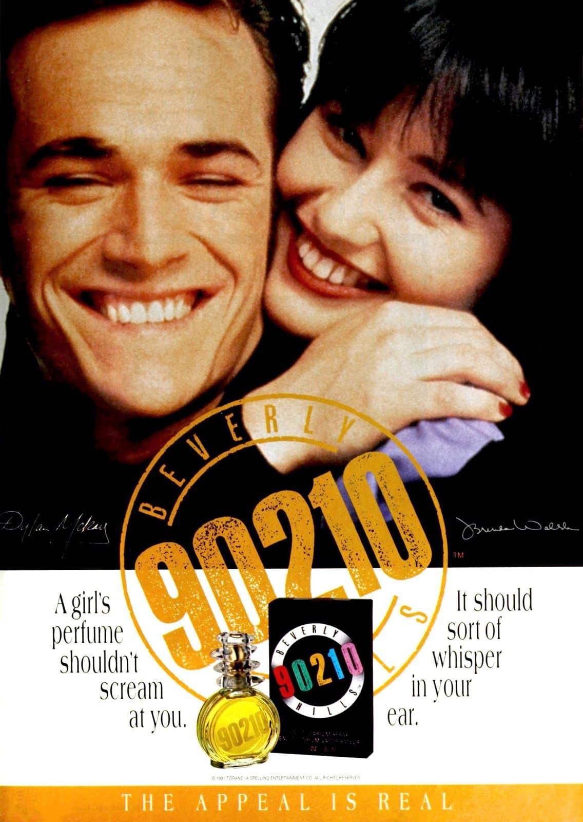 Beverly Hills 90210 perfume (1992)