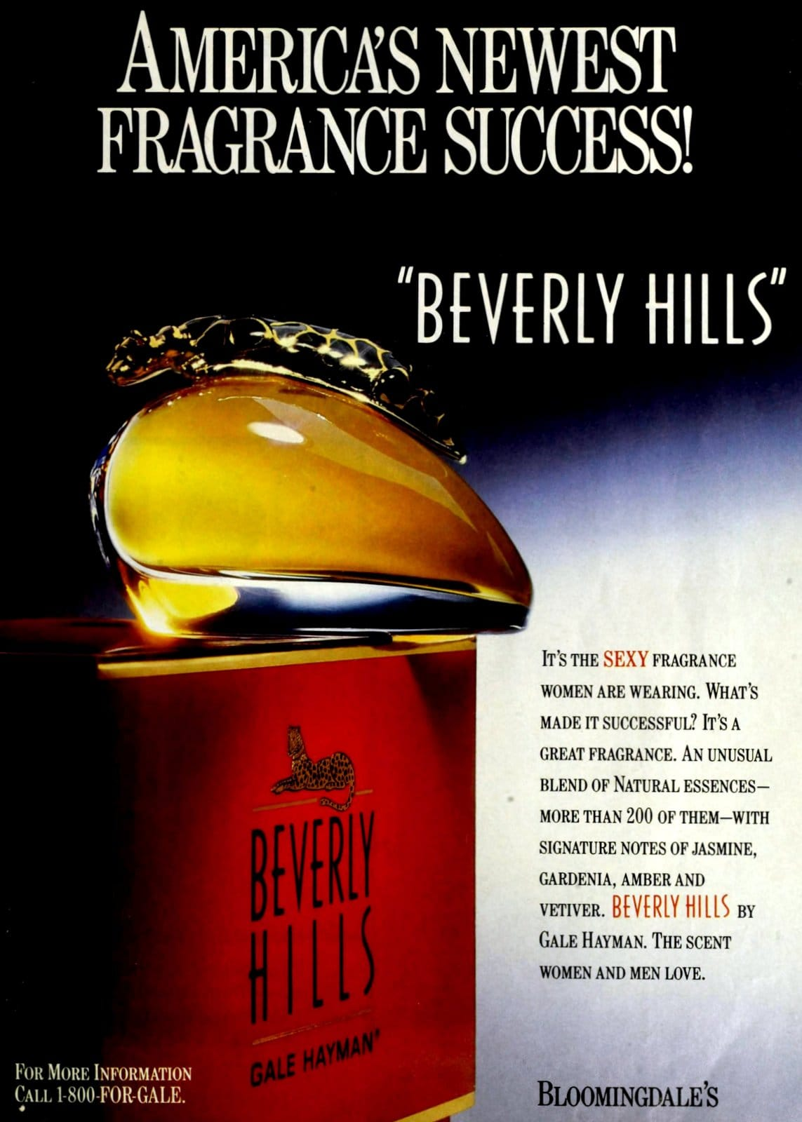 Beverly Hills fragrance from Gale Hayman (1991) at ClickAmericana.com