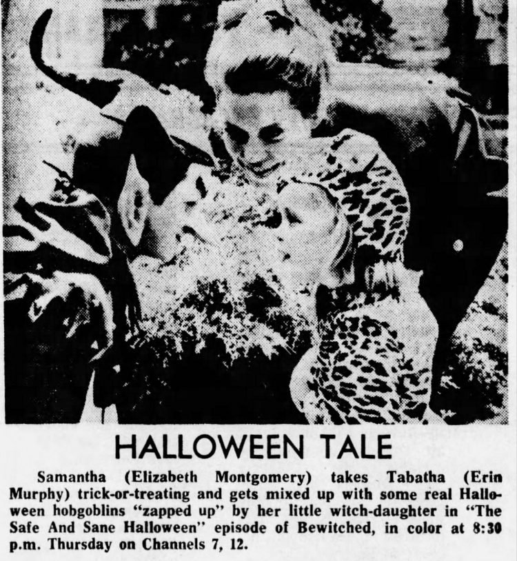 Bewitched TV show Halloween special episodes (2)