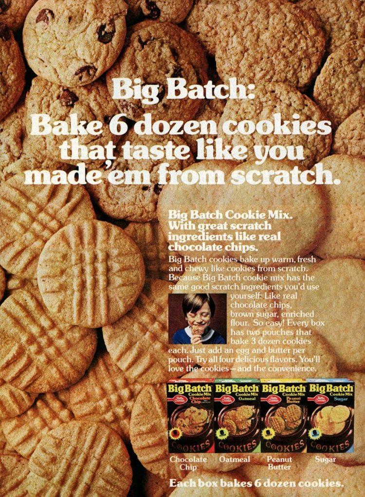 Big Batch cookie mix (1978)