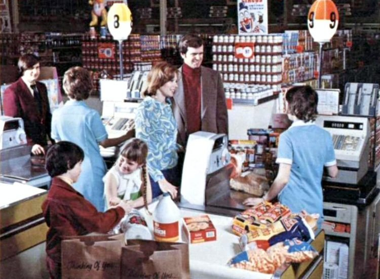 Big Bear 70s grocery stores 1974 - 8