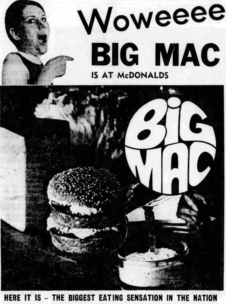 Big Mac 1969