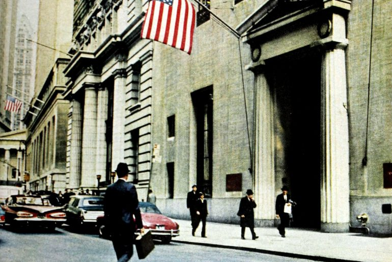 Big bank in New York in the 1970s
