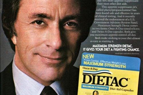 Bill Bixby ad for Dietac diet pills -1982
