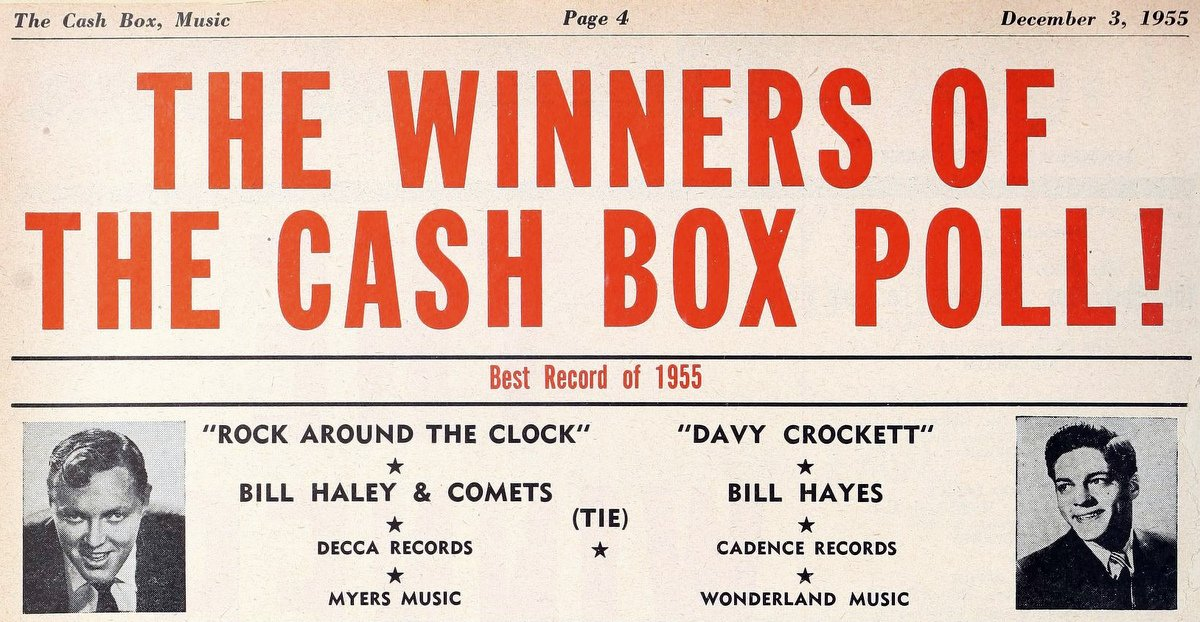 Bill Haley and His Comets - Best record of 1955